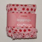 NWT Gymboree Prep School Pink Apple Leggings 2T New