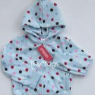 NWT Gymboree Winter Snowflake Polka Dot Hoodie 5 5T New