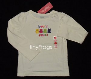 NWT Gymboree Candy Shoppe Beary Sweet Top 5 5T New