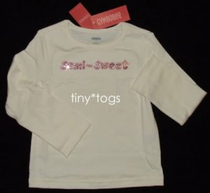 NWT Gymboree Sweeter than Chocolate Semi Sweet Top 5 5T