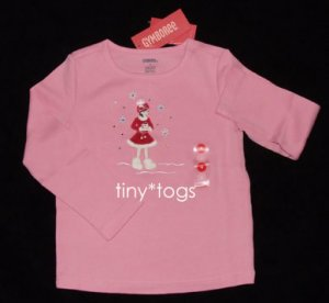 NWT Gymboree Winter Snowflake Pink Cozy Skater Top 4 4T