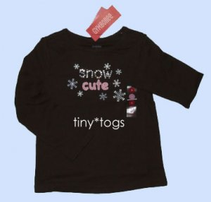 NWT Gymboree Winter Snowflake Snow Cute Top 4 4T New