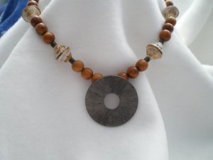 Sand and Sea Necklace