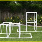"Dog Walk Bases - Adjustable 24"" to 48"" - Dog Agility Equipment"