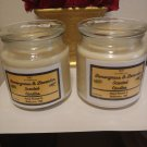 Double Wick Lemongrass & Lavender Scented Candles