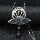 PENDANT Witchcraft Moon TOTAL PROTECTION BLACK MAGIC SPELL CAST DEMON JINN