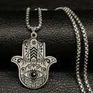 PENDANT MUSLIM KHAMSA EVIL EYE TOTAL PROTECTION BLACK MAGIC SPELL DEMON JINN