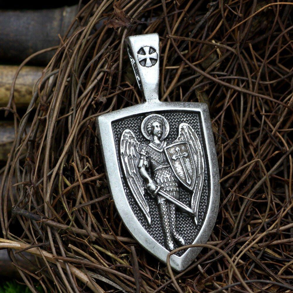 PENDANT Archangel St Michael DEMON REMOVE BLACK MAGIC SPELL