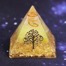 PYRAMID TREE OF LIFE ORGONE ENERGY CHAKRA HEALING SPIRITUAL RADIONIC PROTECTION