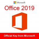 Microsoft Office 2019 ✅PROFESSIONAL PLUS 32/64bit ✅ License Key Instant Delivery