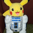 Artoo-Dee-Chu - ABoMinaTioN #3 (Pokémon Star Wars hybrid) LIGHT UP TALKING plush (ONE OF A KIND)