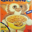 "Gremlins Cereal STICKER 3"" Glossy,  (AI Enhanced!)"