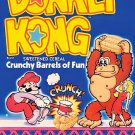 "Donkey Kong Cereal STICKER 3"" Glossy,  (AI Enhanced!) Mario, Nintendo"