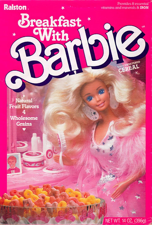 "Breakfast With Barbie STICKER 3"" Glossy, Waterproof (AI Enhanced!)"