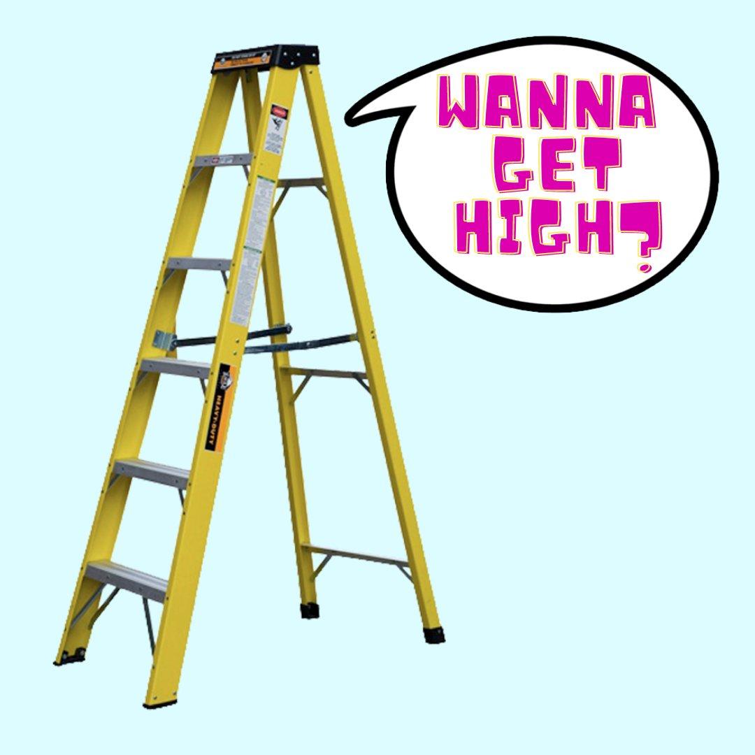 """Wanna Get High? STICKER 3""""   Glossy, Die Cut"""