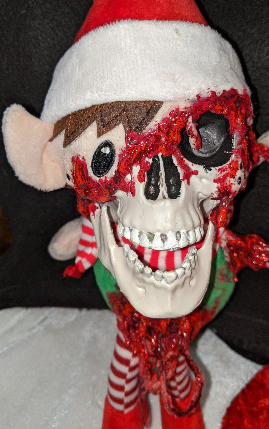HELLF - ABoMiNaTioN #8 (Elf from Hell plush) (ONE OF A KIND ARTWORK!)
