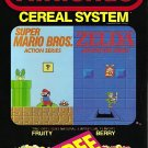 "Nintendo Cereal STICKER 3"" Glossy,  (AI Enhanced!)"