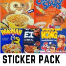 Forgotten Cereal Pack #1 - FIVE Sticker Pack