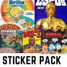 Forgotten Cereal Pack #2 - FIVE Sticker Pack