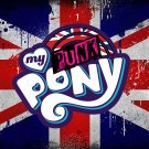 "My Punk Pony LOGO STICKER 3"", Glossy, Die Cut"