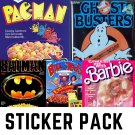Forgotten Cereal Pack #3 - FIVE Sticker Pack
