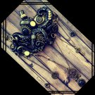 Steampunk Octopus Sculpture / Wall Hanger [0008]