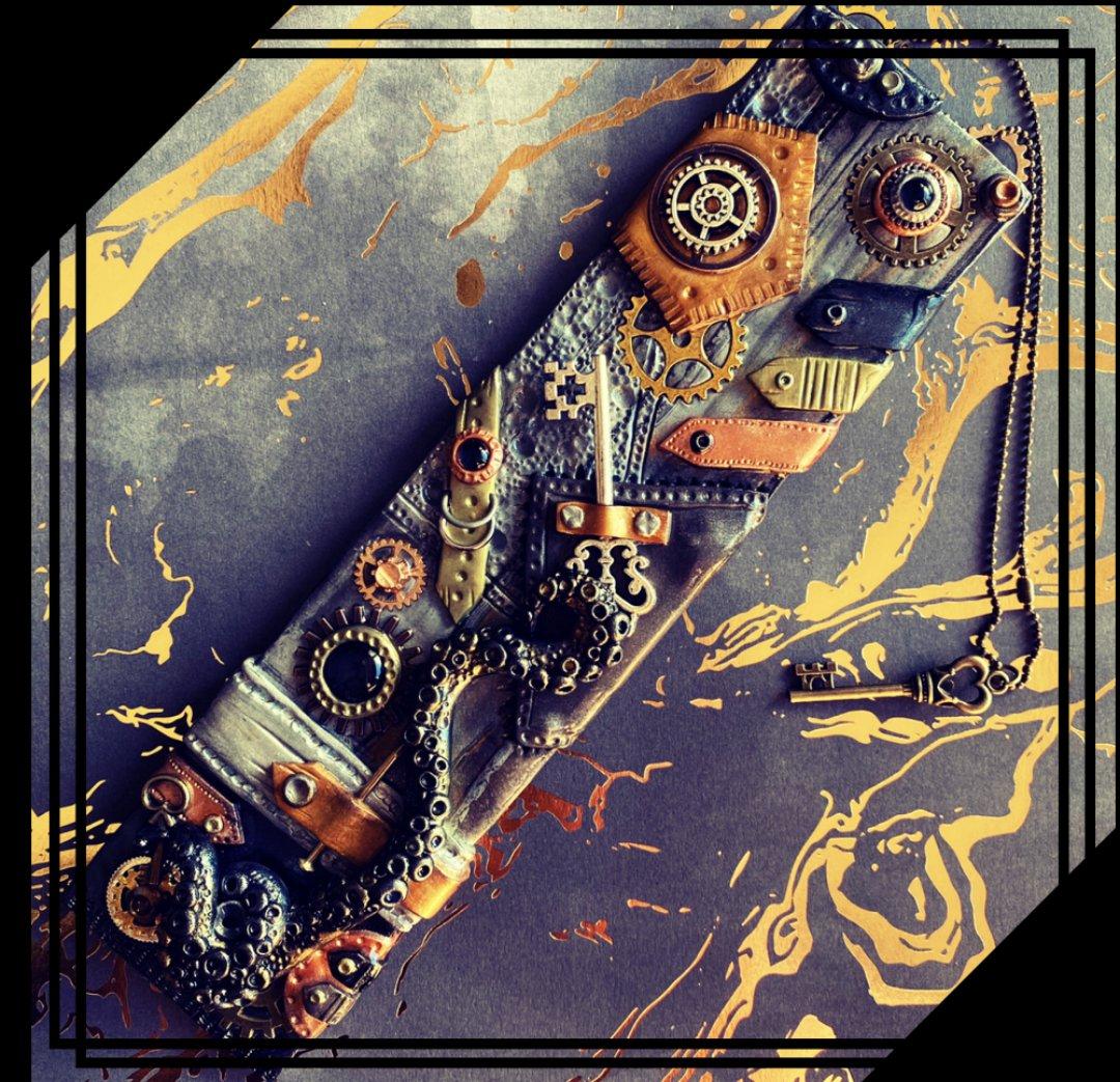 Steampunk Incense Burner / Wall art / Sculpture [0004]