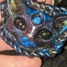 Third Eye Cat Head Pendant [0023]