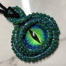 Green eyed Tentacle Cyclops Pendant  [0034]
