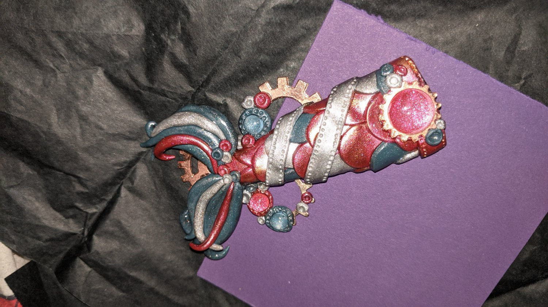 Multicolored Mermaid Tail Trinket  [0027]