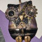 Steampunk Owl Pendant [0030]