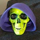 SKELETOR Head statue - Glows in Blacklight!
