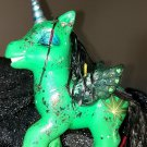 My Little Stony - Custom Hand-painted Pothead My Little Pony! Glows in Blacklight!