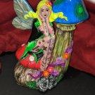 "Inkerbell Statue, 7"" tall - Rocker fairy with tattoos"