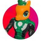Green Lantern COLT STALLION - Custom figure (My Little Pony, DC Comics) 1-of-a-kind artwork!