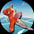 MERMICORN Plush with Reversible Sequin Tail (Unicorn / Mermaid mashup)