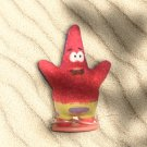 FLOCKED Patrick (Sponge Bob Square Pants Character Figurine) [Flocking Insane!]