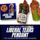 Liberal Tears Shimmer Snow Globe style Pendant - GREEN
