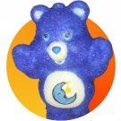 FLOCKED Bedtime Bear (Care Bears figurine) [Flocking Insane!]