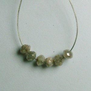 1.05 ct. Diamond Bead Collection � intense silver sparkle