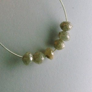 1.15 ct. Diamond Bead Collection � intense silver sparkle