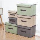 Cloth folding storage box multi-functional storage box fold storage boxes