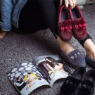Outdoor artificial wool cotton shoes Thick soles Soft bottom shoes Warm shoes