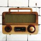 Wooden Radio Vintage, Wooden Radio,FM Radio, Classic, standing radio, Retro radio