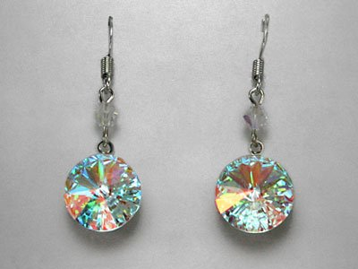 Swarovski Crystal AB Dangle Earrings * Sale!