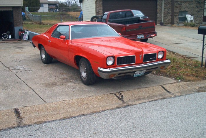 1973 Grand am/GTO grand am GTO 73 PONCHO GOAT