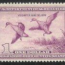 RW5 Mint Never hinged Superb Federal OG CV $425.
