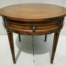 VINTAGE OLD COLONY BEACON HILL MAHOGANY SIDE END TABLE, REGENCY STYLE HOLLYWOOD