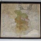 1710 ANTIQUE HOMANN ENGRAVING MAP PIEDMONT ITALY MILAN TORINO + SAVOIE EUROPE