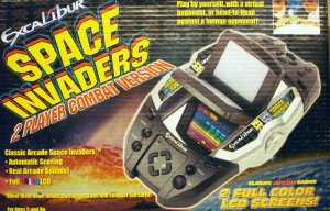 Excalibur 402-2 Space Invaders Double Player